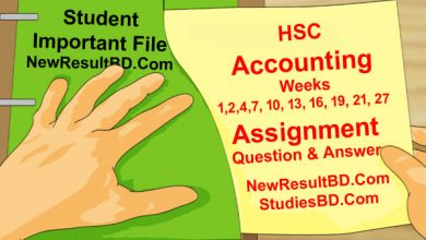 HSC Accounting Assignment Answer